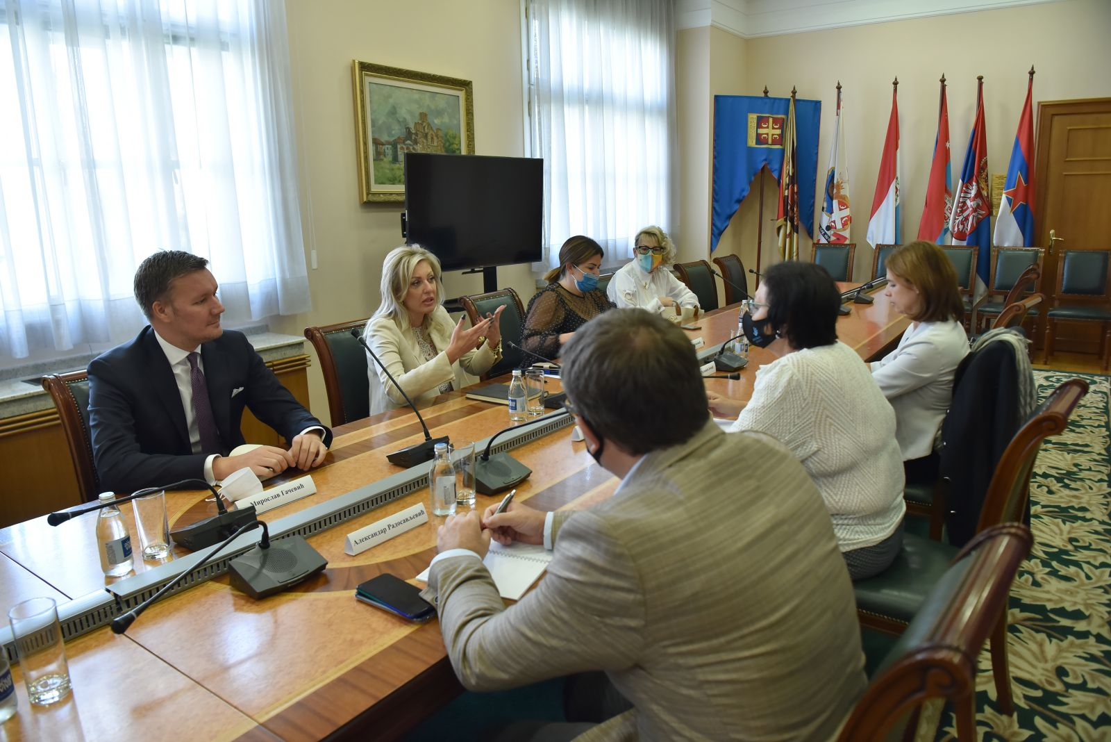 J. Joksimović and Čomić: Team for the Conference on the Future of Europe formed