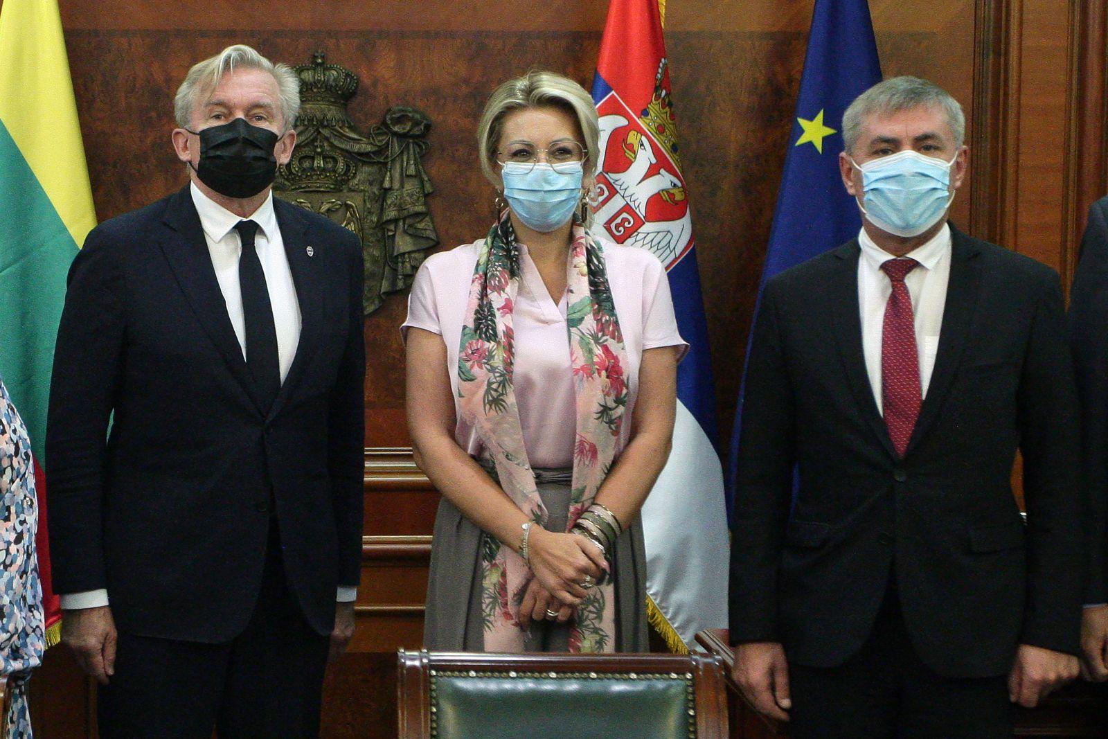 J. Joksimović s litvanskim parlamentarcima: EU cilj Srbije