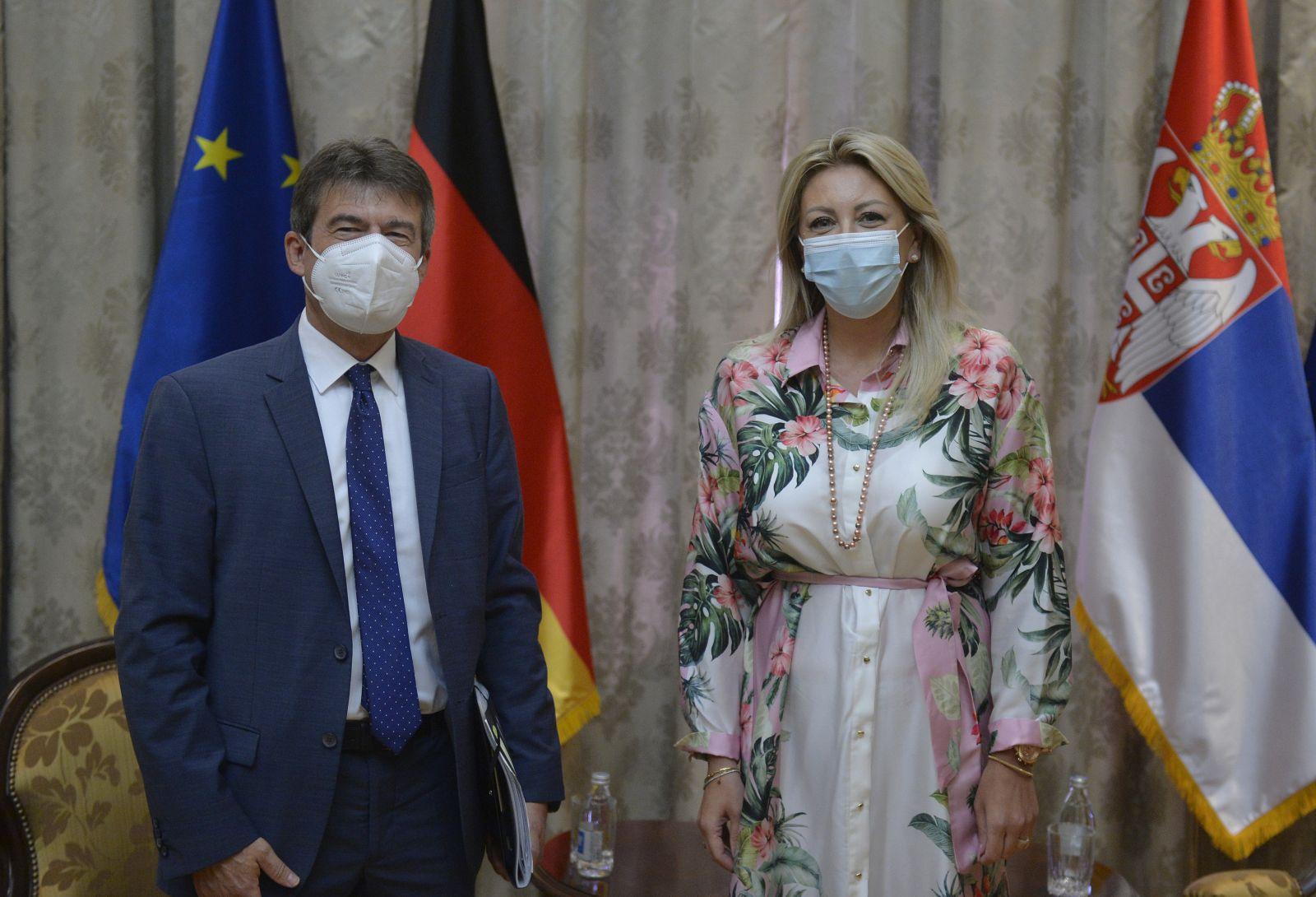 J. Joksimović and Müller: Germany provides development assistance for sustainable development