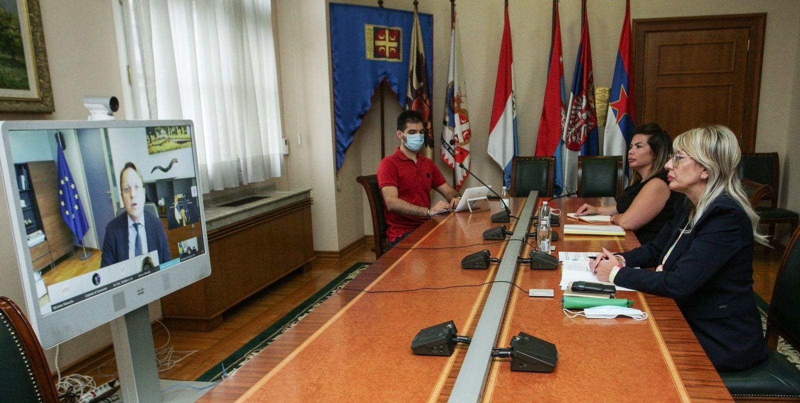 J. Joksimović, Várhelyi and WB ministers on expectations from the Summit