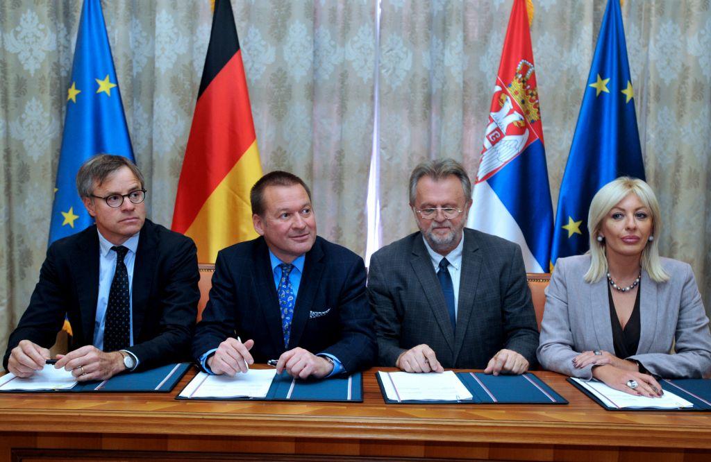 Ј. Јоксимовић: Немачка за конкретне пројекте издвојила 40 милиона евра
