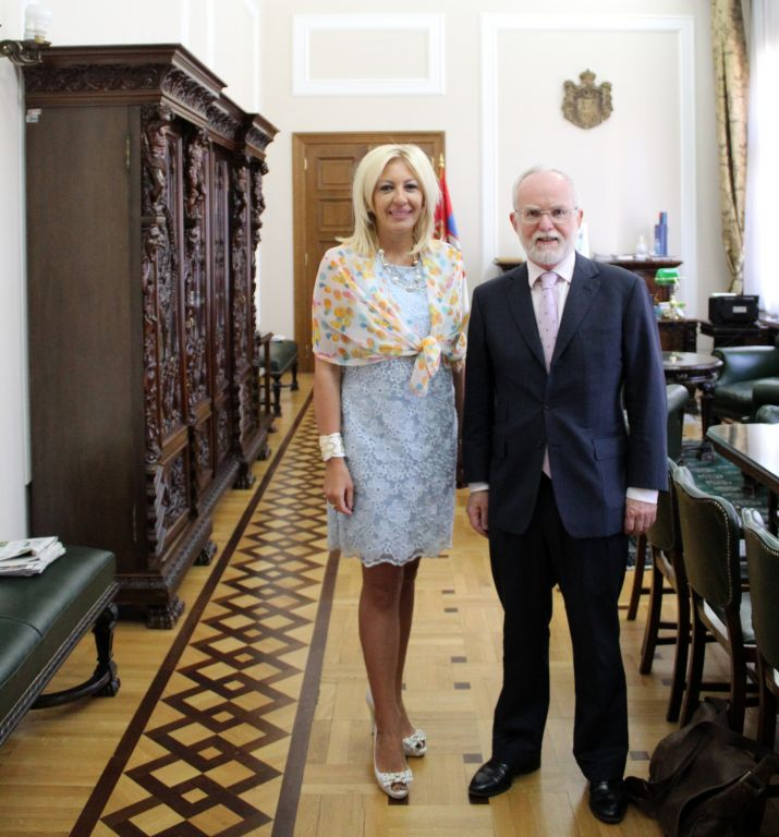 J. Joksimović and Keefe: Support to European integration of Serbia, regardless of BREXIT