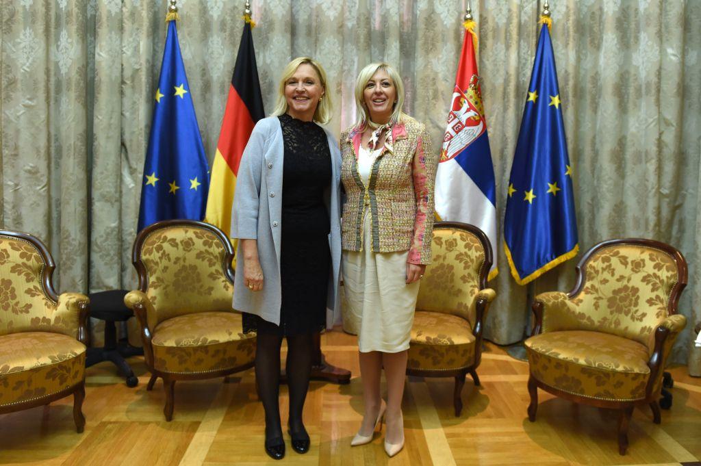 J. Joksimović i B. Merk o konkretnoj razvojnoj saradnji Srbije i Bavarske