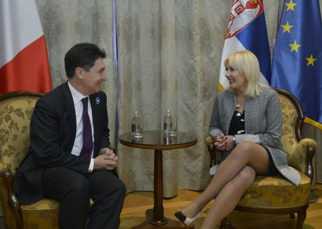 Ј. Јоксимовић и О. Кадик: Јасна подршка процесу ЕУ и реформама