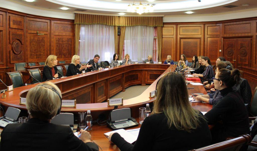 Ј. Јоксимовић са делегацијом Украјине о преношењу искустава у процесу ЕИ