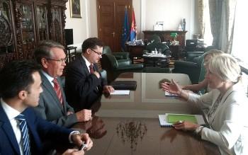 Joksimović i Čepurin o EU integracijama, regionu i međunarodnim odnosima