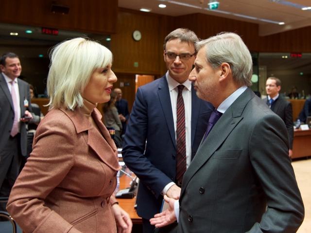 Ј. Јоксимовић: Још два поглавља - важан корак на путу евроинтеграција