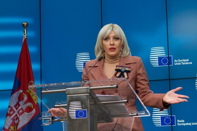 Ј. Јоксимовић: Отварање поглавља - порука да је Србија стабилна