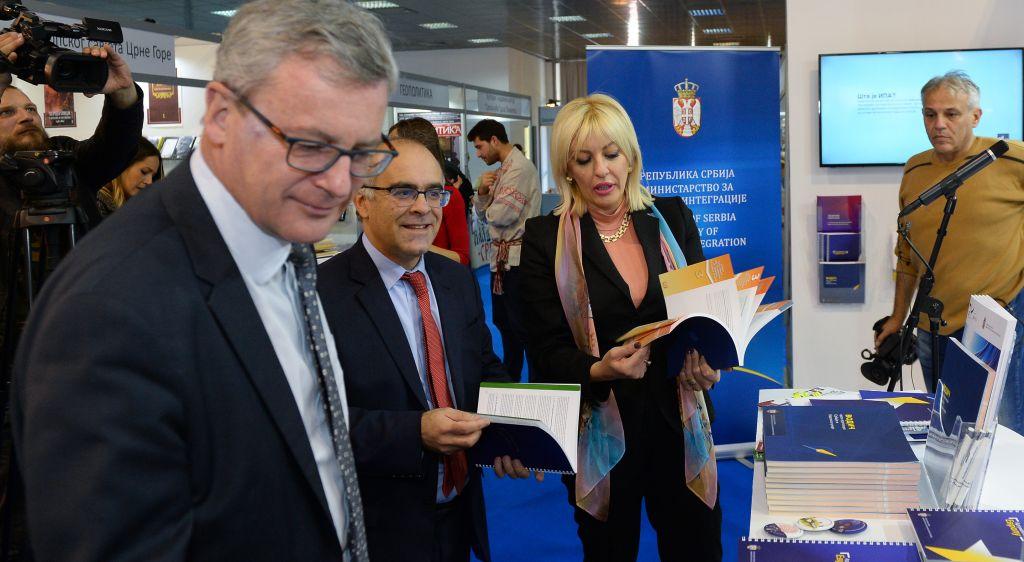 Ј. Јоксимовић: До краја године отварамо још три до четири нова поглавља