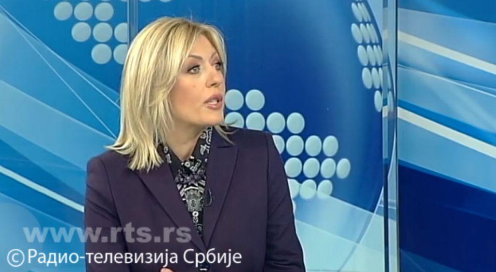 J. Јоксимовић о Извештају ЕК: Важно што нема назадовања ни у једној области