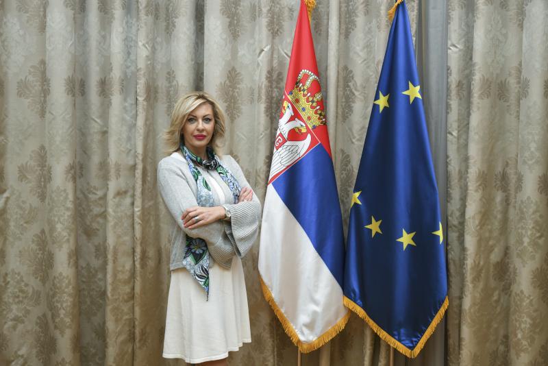 Ј. Јоксимовић: Пројекат Виктора Орбана није замена за ЕУ, већ је, поред осталог и модел сарадње којим се подржава европски пут Србије