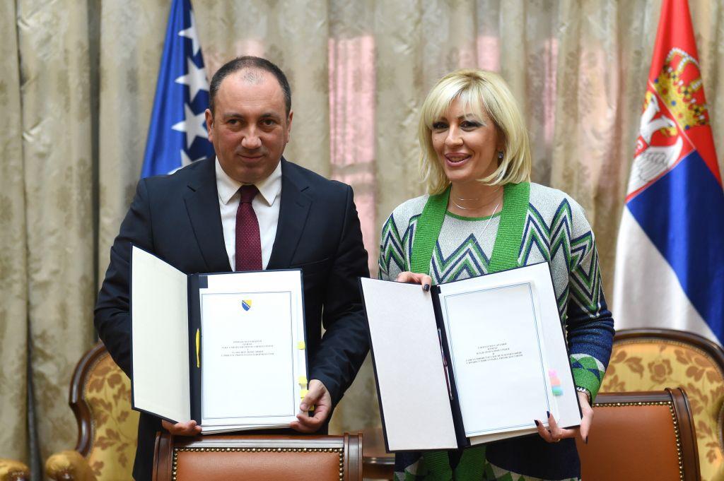 Ј. Јоксимовић и Црнадак: Сарадња није само обавеза из процеса ЕУ интеграција, већ је наш суштински интерес