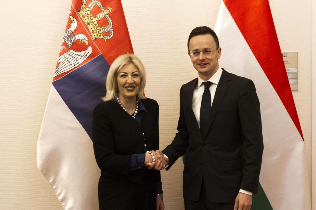 J. Joksimović and Szijjártó: Hungary is an honest partner to Serbia in the process of European integration