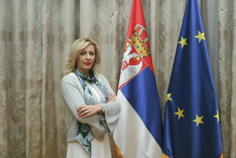 Ј. Јоксимовић: Србија води одговорну европску политику