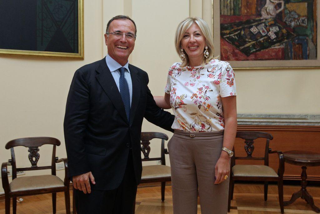 Ј. Јоксимовић и Фратини: Србија води одговорну и промишљену европску политику