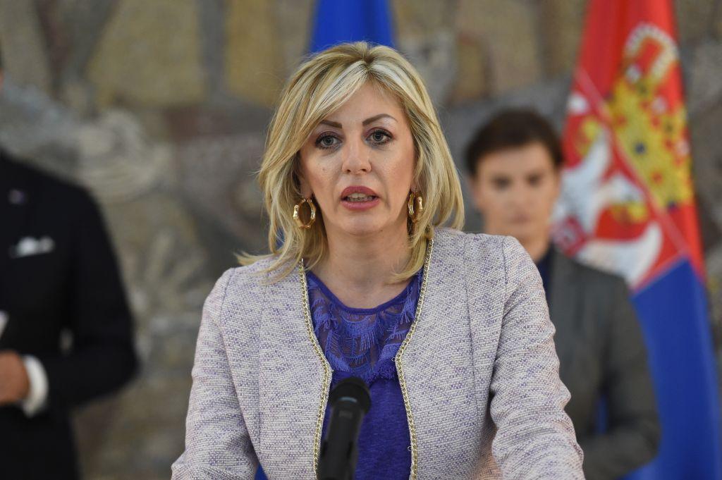 Ј. Јоксимовић: Похваљен континуиран напредак Србије у процесу европских интеграција