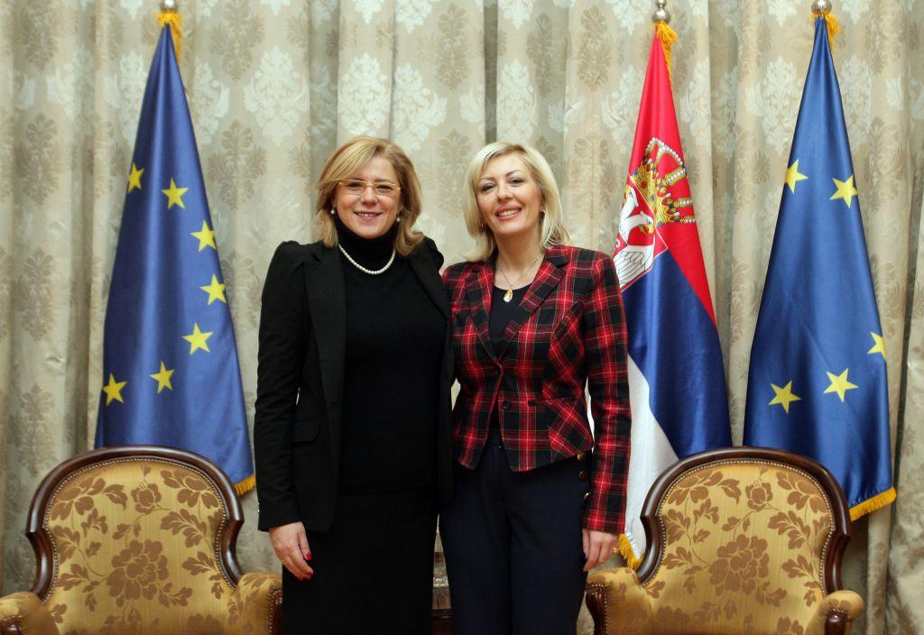 Ј. Јоксимовић и Крету: Регионална и кохезиона политика за одрживи развој региона у Србији