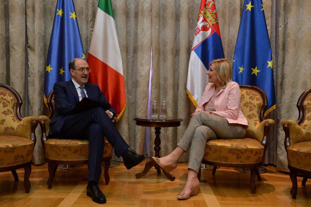 Ј. Јоксимовић и Ло Кашо: Италија подржава европску перспективу Србије