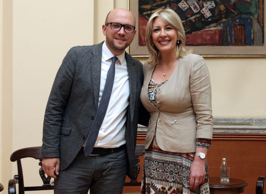 Ј. Јоксимовић и Сарацин: Важност наставка реформи у владавини права