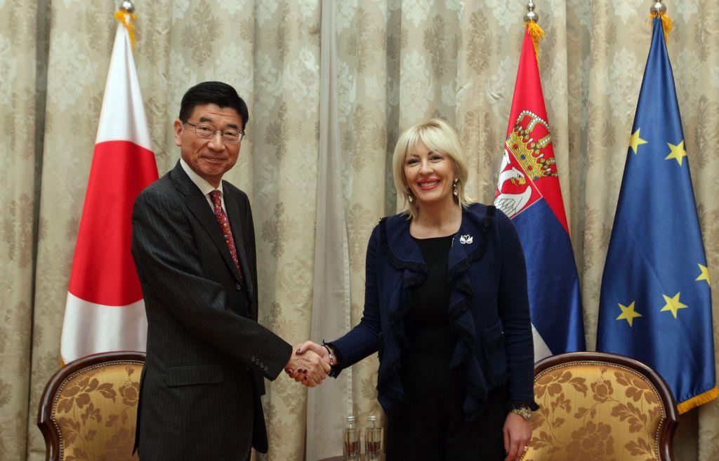 J. Joksimović i Marujama: Japan važan razvojni  partner Srbije