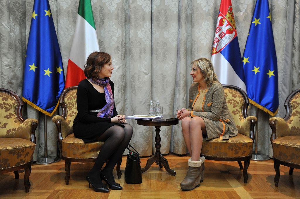 J. Joksimović i Grande: Italija pozdravlja kvalitet sprovedenih reformi