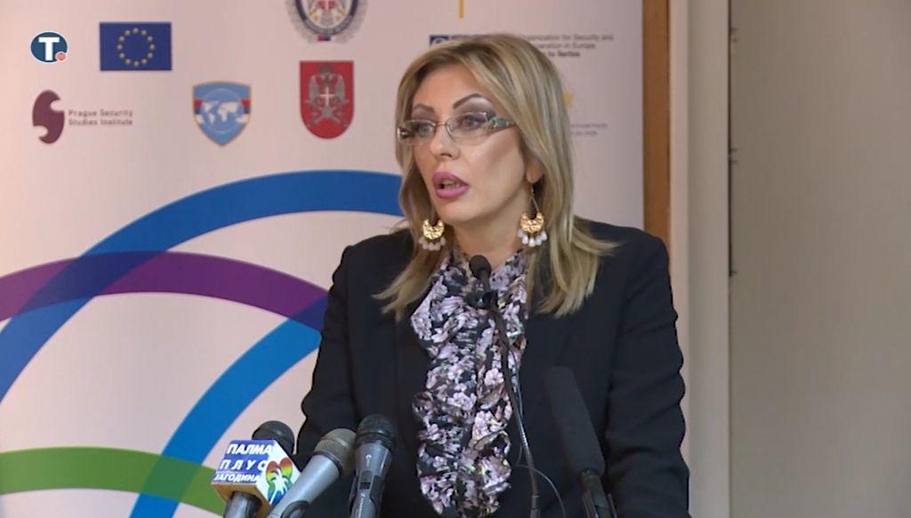J. Joksimović: Srbija aktivno doprinosi međunarodnoj bezbednosti