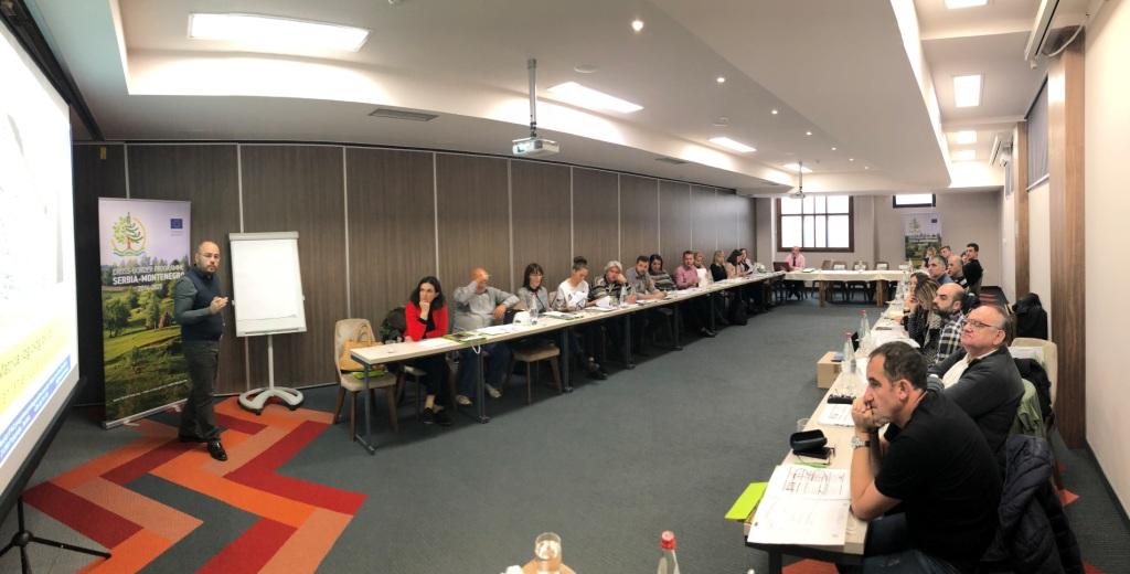 Одржана радионица о  припреми предлога пројеката у оквиру ИПА  Програма  прекограничне сарадње Србија-Црна Гора 2014-2020