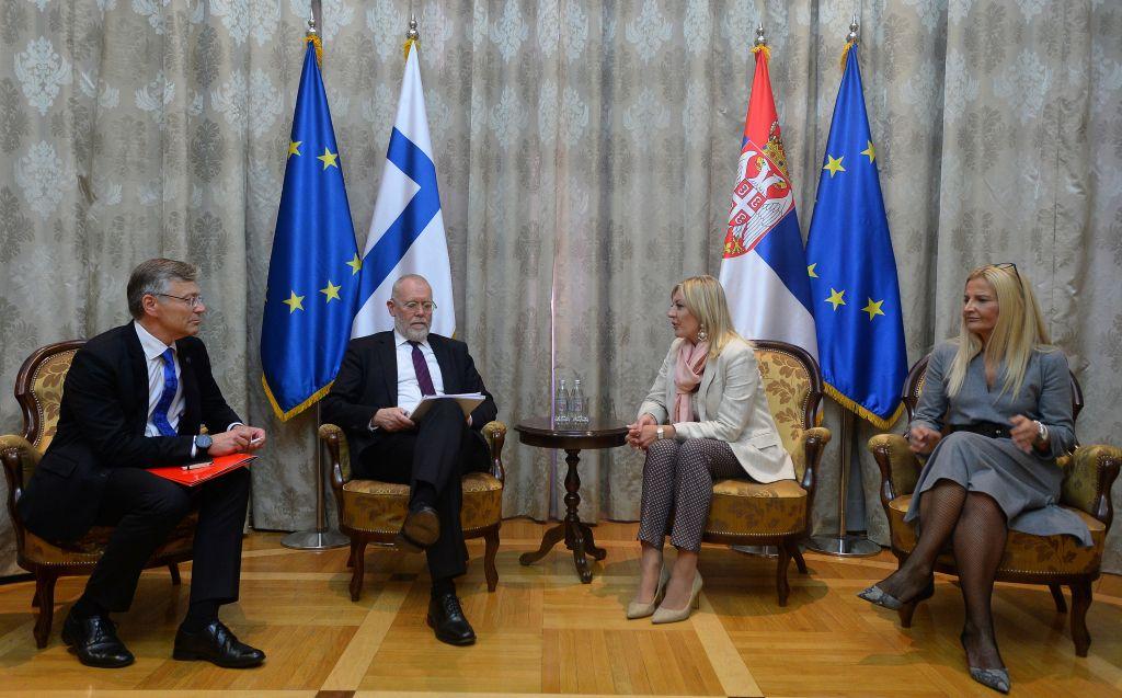 J. Joksimović i Antonen: Finska podržava kredibilnu politiku proširenja