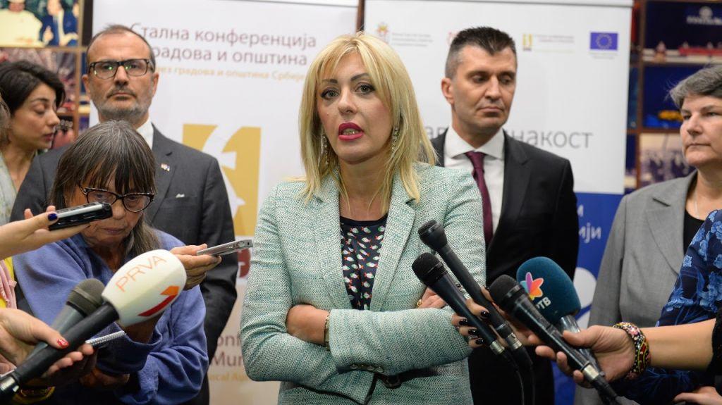 Ј. Јоксимовић: Србија је учинила много у свим сегментима друштва