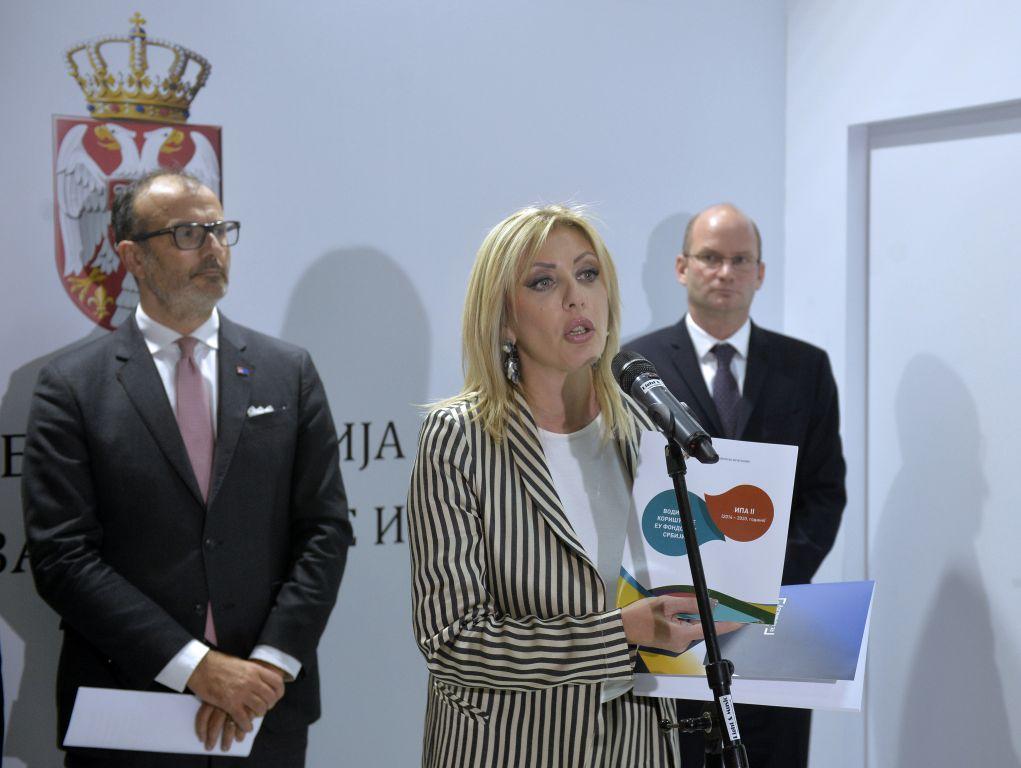 J. Joksimović: Sredstva iz fondova EU neće biti manja