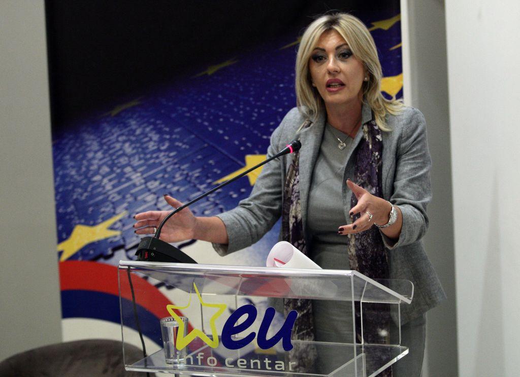 Ј. Јоксимовић: Кроз ЕУ преговоре и фондове до одрживог развоја