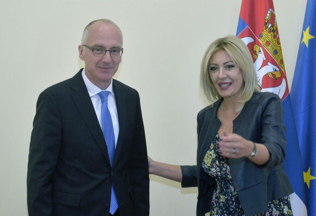 Ј. Јоксимовић и Шиб: Србија показује напредак у реформама