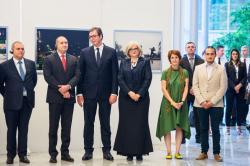 Отварање изложбе Примењена носталгија у Београду, 21. јун 2018. године