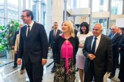 Отварање изложбе Примењена носталгија у Београду, 21. јун 2018. године\
