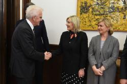 Meeting of the Minister of European Integration Jadranka Joksimović with the Prime Minister of the German federal state Baden-Württemberg Winfried Kretschmann