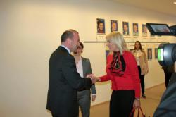 Manfred Weber and Jadranka Joksimović