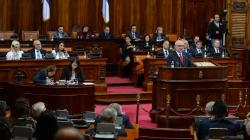Special Sitting of the National Assembly of the Republic of Serbia, H.E. Dimitar Glavchev, Speaker of the National Assembly of the Republic of Bulgaria, addresses the National Assembly