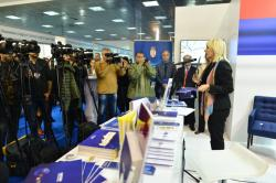 Minister of European Integration Jadranka Joksimović presented the new publication of the Ministry Arguments for Europe at the 62nd International Belgrade Book Fair