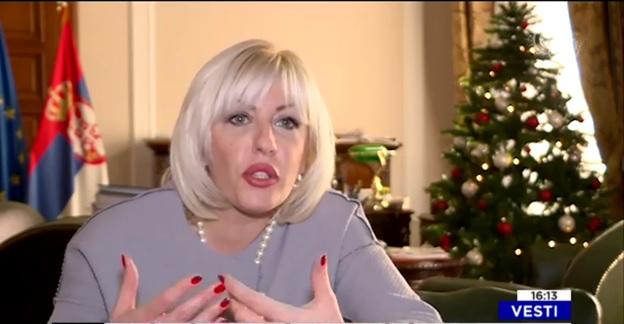 Na kraju godine ministar za evropske integracije Jadranka Joksimović za O2.TV govori o očekivanjima za 2018. godinu