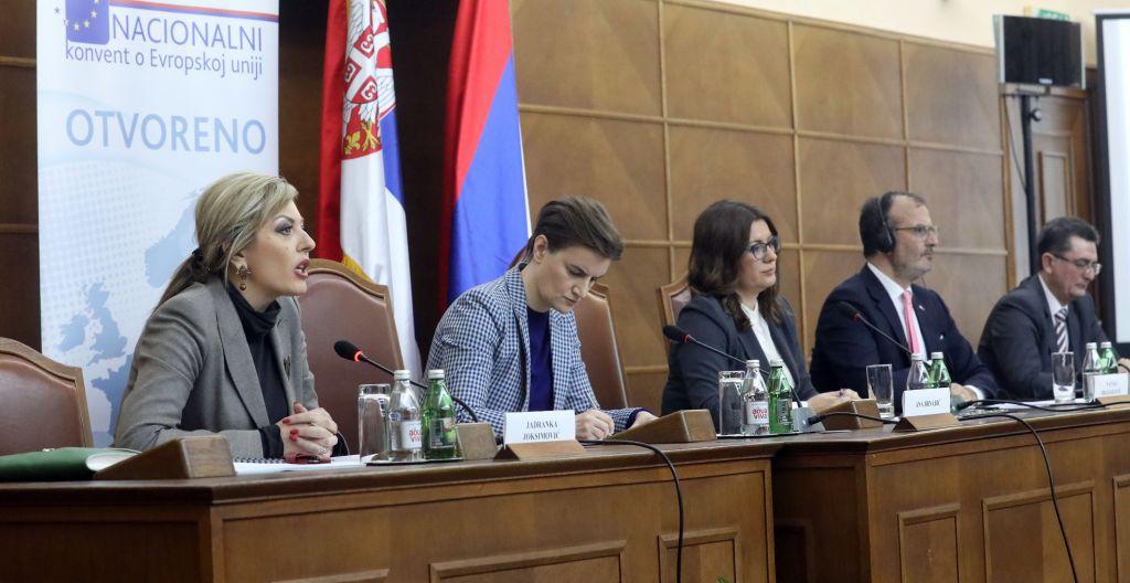 Ј. Јоксимовић: ЕУ интеграције подржава 55 одсто грађана Србије