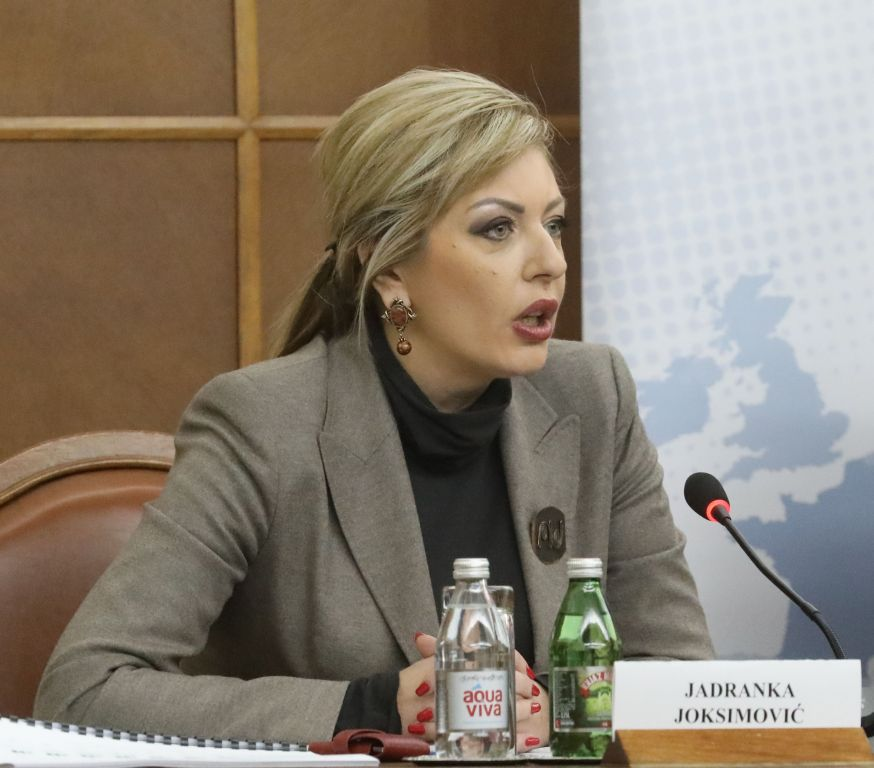 Ј. Јоксимовић: Односи са Русијом не ремете процес европских интеграција Србије