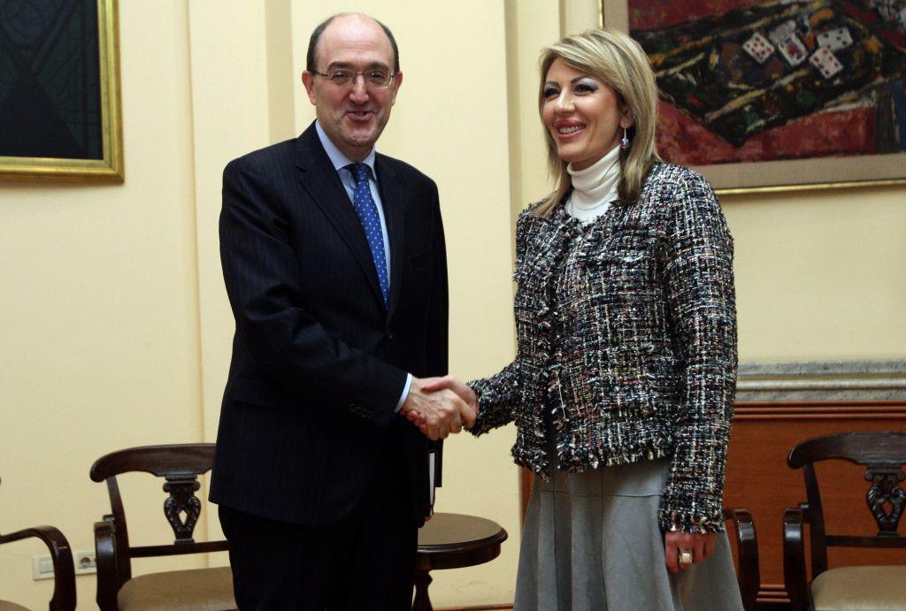 Ј. Јоксимовић и Ло Кашо: Италија верује у европску будућност Србије