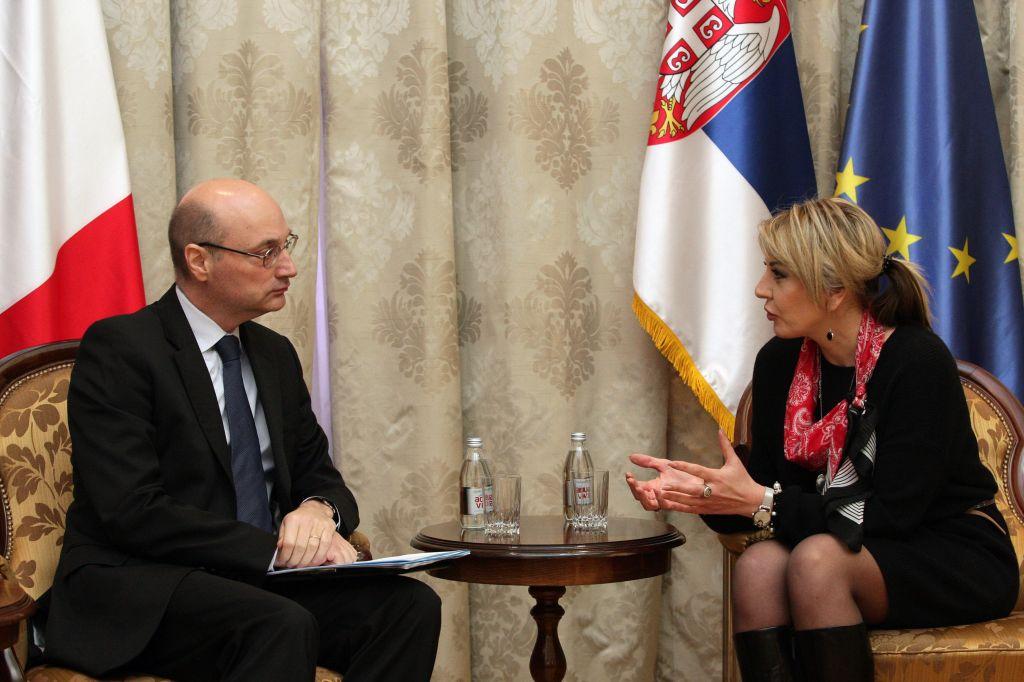 Ј. Јоксимовић и Мондолони: Продубљивање сарадње у бројним областима – израз партнерства