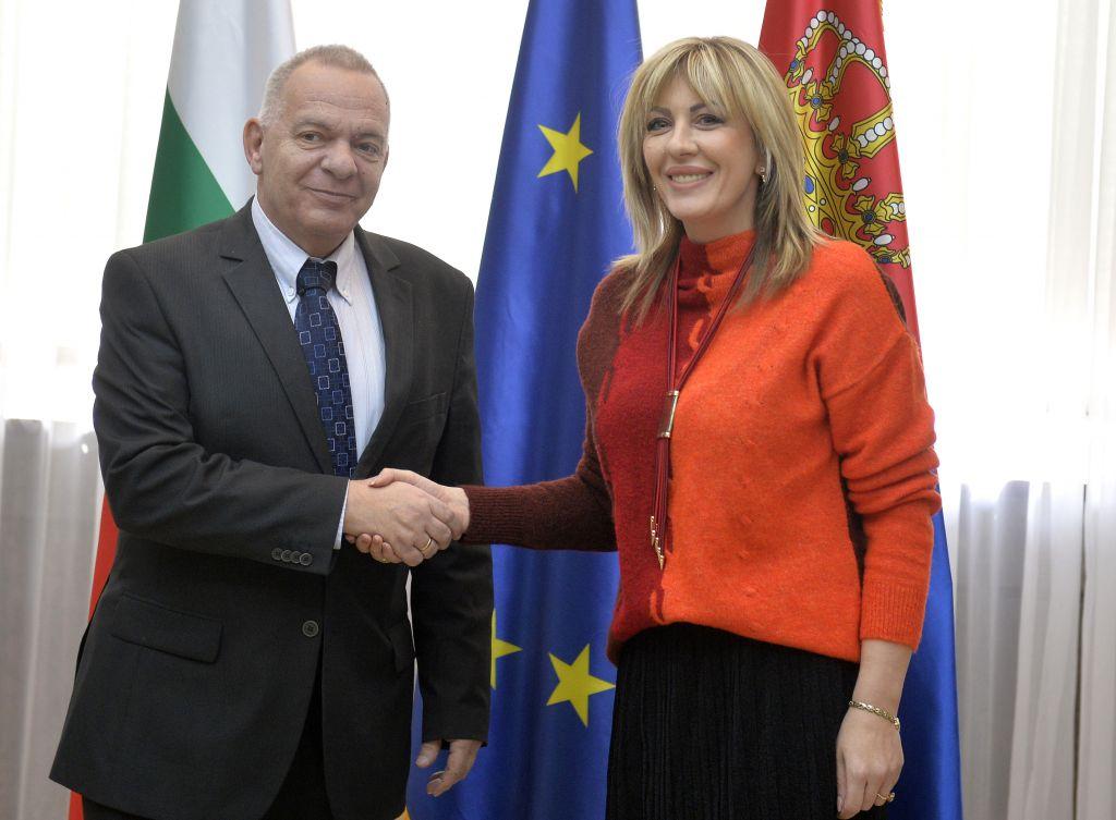Ј. Јоксимовић и Влајков: Бугарска и Србија интензивно развијају сарадњу