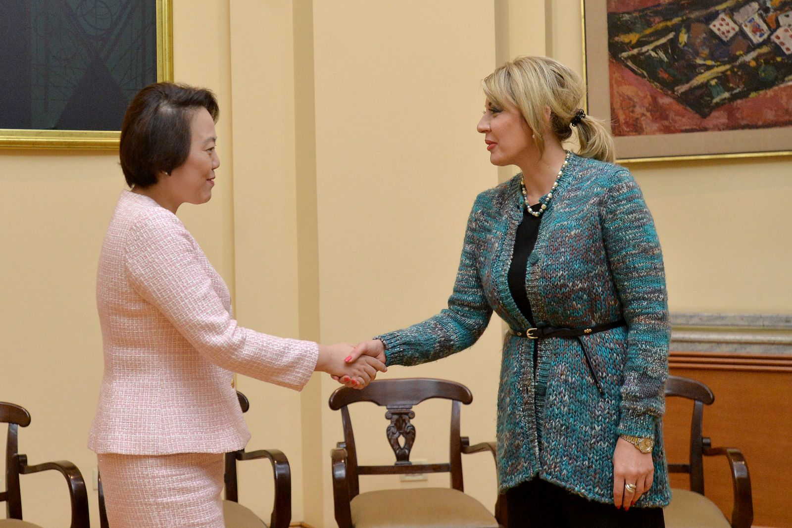 J. Joksimović and Chen: Active cooperation and dialogue between Serbia and China
