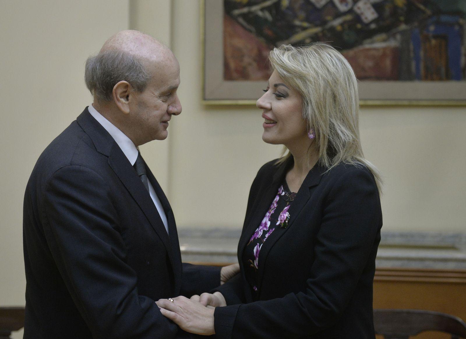 J. Joksimović primila ambasadora Saraivu u oproštajnu posetu