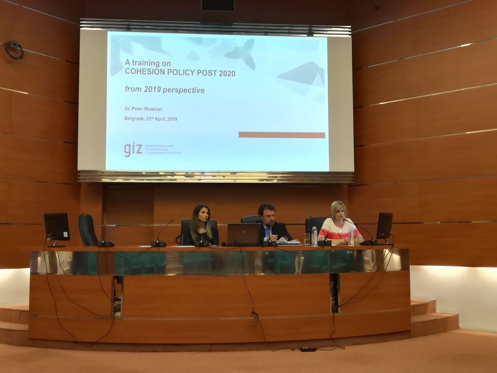 Seminar o kohezionoj politici EU u novoj finansijskoj perspektivi 2021-2027