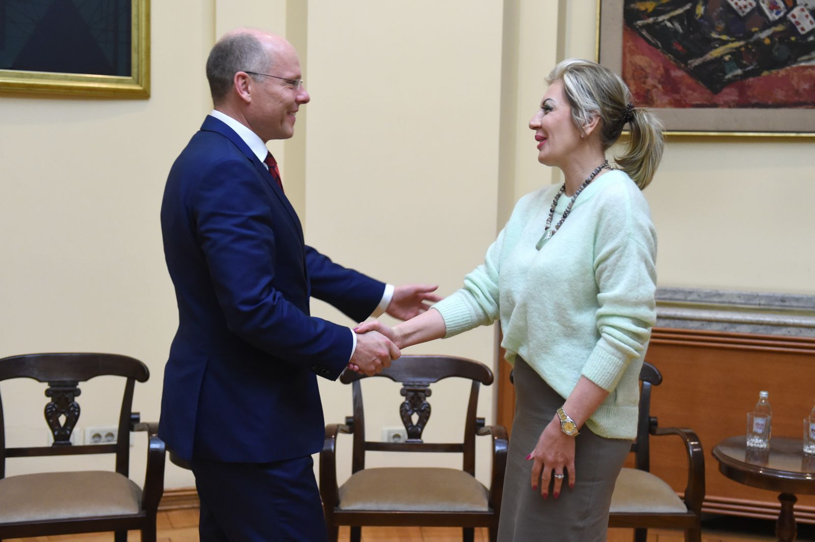 J. Joksimović and Bundestag members: Stability in the region – important for the EU as well