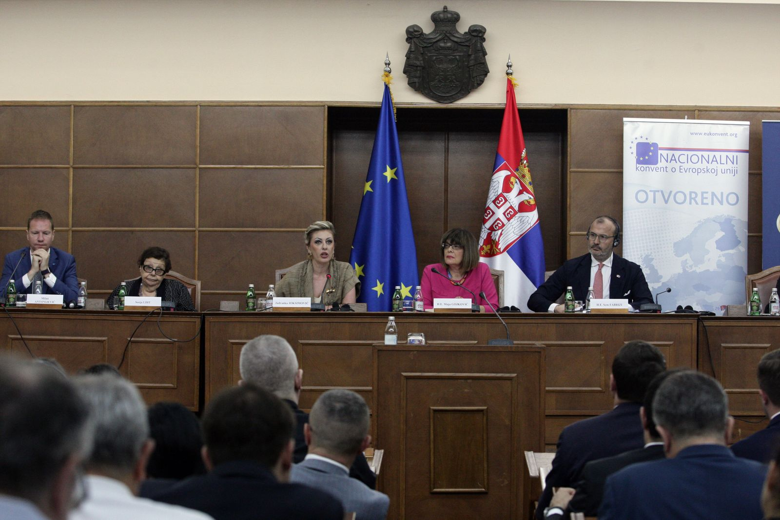 J. Joksimović: The Balkans incorporable into the EU, Serbia's place is within it