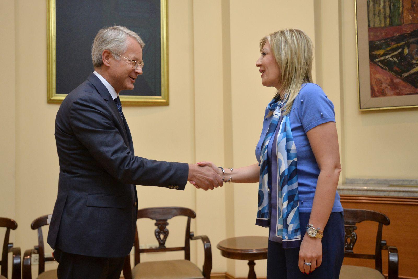 Ј. Јоксимовић и Лахдевирт: Од 1. јула Финска председава ЕУ, подршка политици проширења